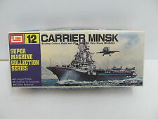MES-44842Imai B986 L:ca.16cm Carrier Minsk Bausatz geöffnet,