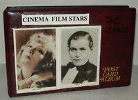 70 Cinema Film Star Postcards - Cased,  Betty Gable, Lucille Ball, Clark Gable