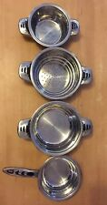 SET OF SWITZERLAND ROYALITY LINE STAINLESS STEEL SN-19611123 HIGH QUALITY POTS