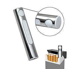 Rechargeable Cigarette Lighter Slim USB Electronic Luxury Lighter (Inbuilt USB)