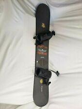 ⭐Vintage Burton SuperFly II Wood Core Jim Rippey 56 Snowboard W/ Bindings