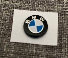 BMW logo 11mm clé key voiture sticker Autocollant BMW télécommande serie 1,3,5