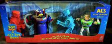 Disney Toy Story 2 Al's Toy Barn Battle Set Rock'em Sock'em Robots Buzz Zurg MIB