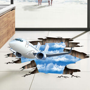 Large 3D Home Decoration for Kids Room Floor Living Room Wall Decal Home De HF