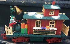 New Bright G Scale Holiday Express Animated Santa's Toy Shop Caboose