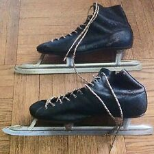 Vintage Fleetwing Racing Ice Skates Mens