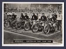 Ardath Photocards AUSTRALIAN SPEEDWAY TEAM (Dirt Track) 1936, No.155