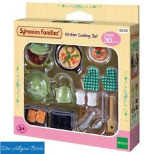 Sylvanian Families  2938/ 5028 Küchen Koch-Set Kitchen Cooking Set Epoch Neu OVP