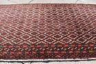 Tribal Rug 46'' x 22'' Vintage Turkoman Tribal Bokhara Bag Face Rug Area Rug
