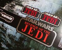 """ALL NEW!!Kenner STAR WARS """"RETURN/REVENGE of the JEDI"""" Vintage style 5"""" patches"""