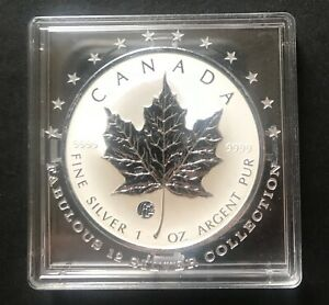 CANADA 2008 MAPLE LEAF Fabulous Collection F12 Privy Mark 1 Oz 999.9 Silver Coin