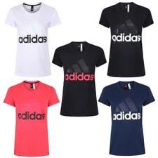 Camisetas de mujer adidas color principal negro 100% algodón
