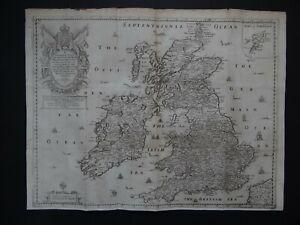 1669 Richard BLOME atlas map  BRITISH ISLES - England Ireland Scotland Wales UK