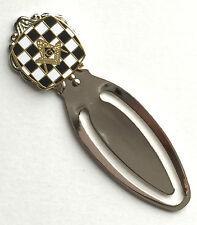 Masonic Carpet & Crest Emblem Enamel Crested Bookmark & Gift Bag (K153)