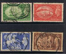 UNITED KINGDOM 1951 KING GEORGE VI & H.M.S VICTORY