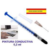 PINTURA CONDUCTIVA CONDUCTORA REPARACION DE PISTAS MOTHER BOARD ELECTRONICA