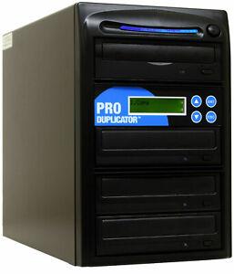 ProDuplicator 3 Burner CD/DVD Duplicator Disc Copier Writer Tower