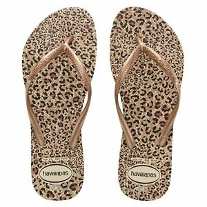 Slim Animals Havaianas Thongs, Flip Flops. Size 9 - 10. 39-40. RRP $49.99. NWT.