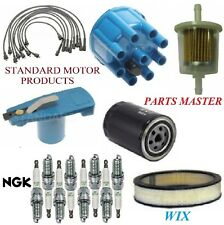 Tune Up Kit Filters Cap Spark Plugs Wire For DODGE DART V8 5.6L; PLASTIC 68-70