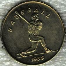 Nice 1984 Los Angeles Brass Olympic Baseball Sports Coin/Token