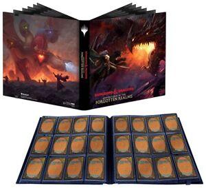 MAGIC Adventures in the Forgotten Realms 12 pk card BINDER album box Tiamatm