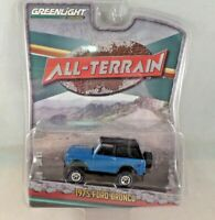 Greenlight All Terrain 1975 Ford Bronco Blue Series 2 NEW 1:64 2015