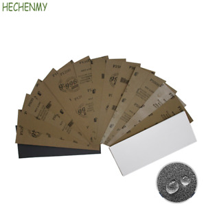 93*230MM 996A Wet and Dry Abrasive Sandpaper Grit Sand Paper Sheets 60# -10000#
