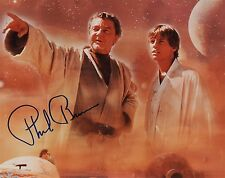 OFFICIAL WEBSITE Phil Brown (1916-2006) STAR WARS IV 8x10 Photo AUTOGRAPHED