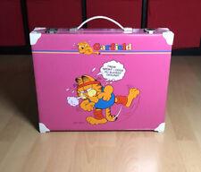 Garfield Koffer - Vintage 1978 Toller Zustand United Feature Jim Davis Retro Toy