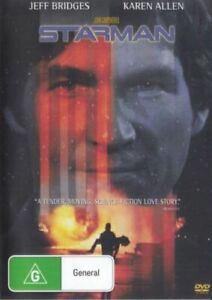 Starman DVD Jeff Bridges New Sealed Australian Release