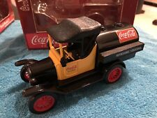 Coca Cola Gearbox Ford Model T Tanker Diecast Coin Bank