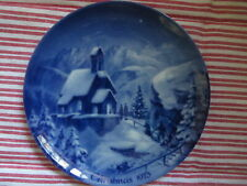 "1973 German Christmas Plate ""Christmas Eve on the Wendefstein"" Berlin Design"
