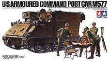 Tamiya 35071 1/35 Scale Military Model Kit U.S Armoured Command Post Car M577