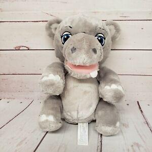 "Walt Disney World 9"" Disney Babies Hippo Hippopotamus Baby Plush"