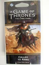 A GAME OF THRONES THE CARD GAME - CALLED TO ARMS CHAPTER PACK