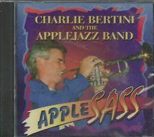 CHARLIE BERTINI AND THE APPLEJAZZ BAND - Apple Sass - CD - BRAND NEW