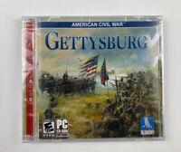 American Civil War: Gettysburg PC CD-Rom 2005 windows Talonsoft strategy game