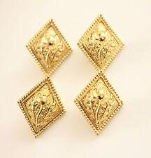 Set 4 gold tone highland les boutons en métal en forme de losange chardon boutons scotland