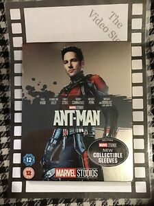 Ant-Man [Blu-ray] Collectible Sleeves a BRAND NEW
