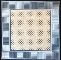 Abstraction géométrique période Art déco gouache milieu XXe Abstrait .,
