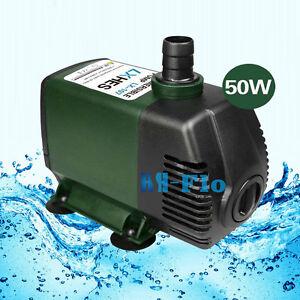 220V,4000L/H Submersible Pump Aquarium Fish Tank Fountain Water Hydroponic