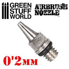 Obturador para Aerografo de 0,2mm - Para Modelismo Miniaturas Pintura Maquetas