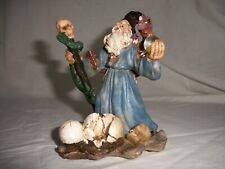 "K's Collection Mystic & Magic Wizard and Dragon, Skulls, Snake (5"" tall)"