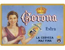 New Vintage Image Corona Beer Girl Advertising  Refrigerator / Tool Box Magnet