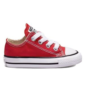 Converse Baby to Adult Sizes Chuck Taylor All Star Ox Low / Hi Top Shoes
