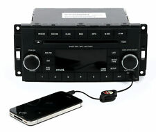 13-16 Dodge Avenger Jeep Patriot Am Fm mp3 Sat Radio Cd With Aux P05091163Aa Res (Fits: Dodge Avenger)