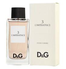 Dolce Gabbana # 3 L'Imperatrice Women 3.3 oz 100 ml *Eau De Toilette* Spray Nib