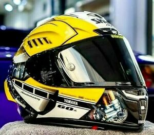 X14 Motorcycle Full Face Helmet Yamah a R1 Anniversary Moto GP Racing Motorbike