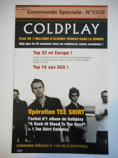▓ PLAN MEDIA ▓ COLDPLAY : CLOCKS ( COMMANDE SPECIALE N° 1339 )