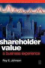 NEW Shareholder Value - A Business Experience (Quantitative Finance)